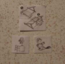 "3 verschiedene ZBA  ""Hanny Bunnys und Bingo Birds"" 1996"