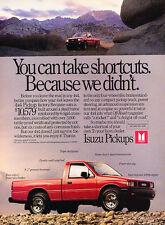 1988 Isuzu Pup Pickup Truck - 4x4 - Classic Vintage Advertisement Ad A97