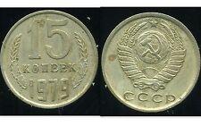 RUSSIE   15 kopek   1979  ( bis )