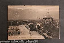 Carte postale ancienne GRENOBLE - Un coin du Jardin des Dauphins