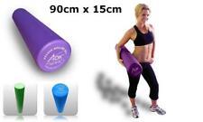 New 90cm x 15cm Physio AB Foam Roller For Pilates Yoga Rehab Excercise Massage