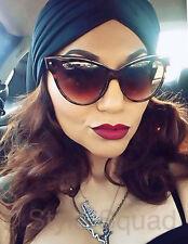 NEW Large Big Cat Eye Pin Up Kitti Mohotani Rockabilly Glasses Sunglasses 018 IT