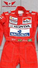 1991 F1 Racing Aryton Senna Kart Race Suit Cik/Fia Level 2 approved