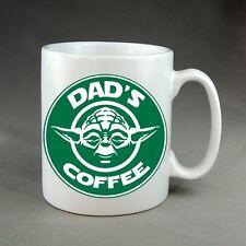 Personalizzato Star Wars Starbucks Tazza Regalo Yoda Darth Vader Stormtrooper