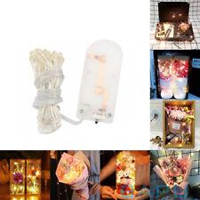 50 LED Solar Fairy Lights Mason Jar Lid Lamp Xmas Outdoor Garden Decor 5M