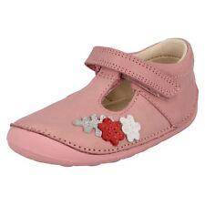 Cla 00004000 Rks Tiny Blossom Girls Leather Pre Walker Shoe