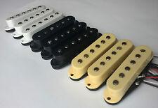 Strat pickup set: flat AlNiCo 5 magnets, plastic bobbin, 50/50/52mm Stratocaster