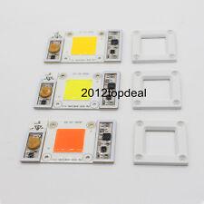 50W 170-265VAC High Power led chip built-in driver white LED, Full Spectrum LED