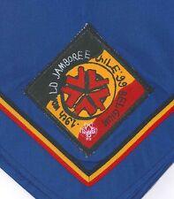 1999 World Scout Jamboree BELGIUM SCOUTS Contingent Neckerchief (N/C) / Scarf