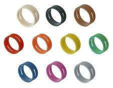 4 (quattro) x Neutrik XXR - * XLR Neutrik anelli colorati-XX Anelli di identificazione