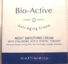 1.7oz BIO ACTIVE ANTI AGING NIGHT SMOOTHING CREAM NIB