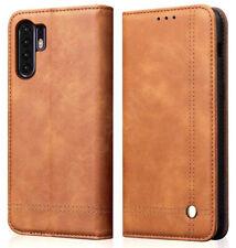 Huawei P30+PRO Case Full Cover Premium PU Leather Phone Holder 360 Magnetic Flip