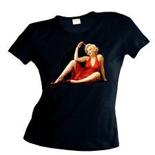 Marilyn Monroe FILM Diva Chica Camiseta para señoras 2075