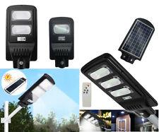 LAMPIONE STRADALE LED 30 60 90W PANNELLO FOTOVOLTAICO ENERGIA SOLARE ESTERNO