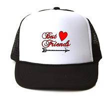 Trucker Hat Cap Foam Mesh Best Friends Arrow  Good Girl Girlfriends