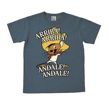 Looney Tunes - Speedy Gonzales - Arriba Andale T-Shirt - graublau - LOGOSHIRT