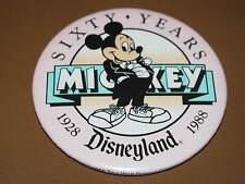 "DISNEYLAND ""SIXTY YEARS"" 1928 - 1988 Pin is 3"" diameter"
