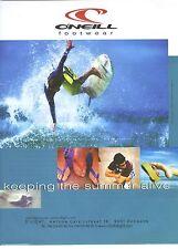 PUBLICITE ADVERTISING 1999 O'NEIL articles de sports vetements chaussures