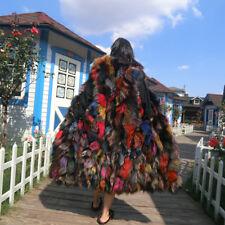 Women's Fur Clothing Fox Fur Gilet waistcoat Multicolor Length fur Vest Coats