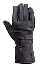 Original Drum Dyed Cowhide Motorcycle Biker Riding Gloves Thermal Lining  G4