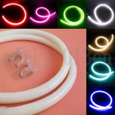 220V 2835 LED Flex Neon Tube Strip Light Rope 360 Round Circl Waterproof Sign
