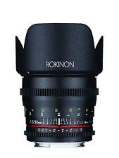 Rokinon Cine DS 50mm T1.5 Full Frame Cine Lens - Canon, Nikon, Sony E, MFT