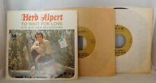 45 rpm Singles Records from the 1950-70s Frank Sinatra Nat King Cole Ella Sergio