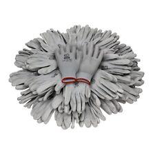 Arbeitshandschuhe Mechanikerhandschuhe 24 Paar Handschuhe Grau PU Garten Gr.7-11