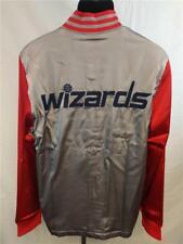 New Washington Wizards Mens M-L-XL-3XL-4XL-5XL+2 On Court 2nd Half Jacket $100