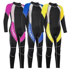 New 2MM Kids Children Diving Suit Boy Girl Free Dive Surf Scuba Swim Wetsuits