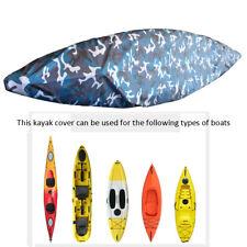Universal Kayak Canoe Waterproof Storage Cover Shield - 2.1-6m 8 Sizes