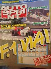 Autosprint 12 1989 Lancia Delta Cerrato 1000 miglia