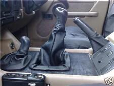 Se adapta a SUV 4X4 Landrover Discovery MK2 conjunto de 1996-2004 3 Cuero Polainas