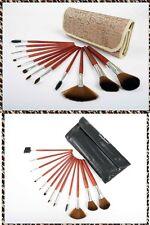 Everglamour Profesional 12 Piezas De Madera cosméticos Pinceles De Maquillaje Estuche De Regalo