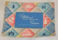 1944 Ann Pillsbury 75th Diamond Anniversary Recipe Meal Dish Cook Book Booklet