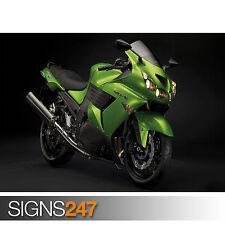 KAWASAKI ABS (1610) Motorbike Poster - Picture Poster Print Art A0 A1 A2 A3 A4