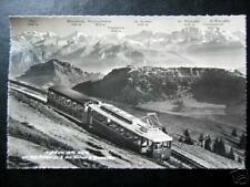 Switzerland~Schweiz~Rigi- Kulm Train~Real Photo Pc