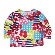 Niña Camiseta de manga larga bebé blumen-alloverprint, BOBOLI TALLA 62 68 74 80