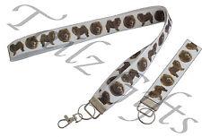 Chow Chow Breed of Dog Matching Lanyard   Keyring Key Ring   Bookmark