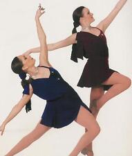 Burgundy MUSIC Moves Me Lyrical Dance Dress Costume Child Medium and Large