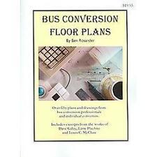 Bus Conversion Floor Plans by Ben Rosander (2003, Paperback)