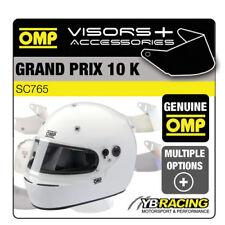 SC765 OMP GP 10K Grand Prix 10 K Kart Casco extra opcional viseras Y Accesorios