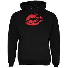 Halloween Kiss of Death Black Adult Hoodie
