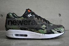 Nike Air Max 1 PRM CAMO ATMOS-black/schwarz-chlrphyll-Orng BLZ