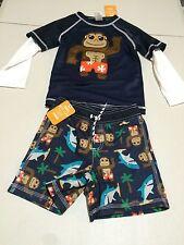 NWT Gymboree Toddler boy rash guard Monkey 2T,3T,4T,5T