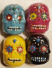 Sugar Skull Day Of The Dead Lip Balm Coconut Berry Pineapple Mint U Choose New!