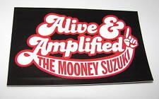 Mooney Suzuki Alive AmplifiedCar Bumpr Sticker Scrpbook