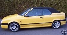 Renault R19 Cabrio Verdeck Stoff schwarz Kunststoffscheibe wopavin TOP Qualität