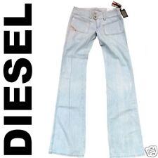 WOW Original DIESEL HUSH Light Blue Stick Rock Star Cotton Denim JEANS g.W 26/32