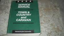 2004 Dodge Caravan & Chrysler Town & Country Service Shop Repair Manual Factory